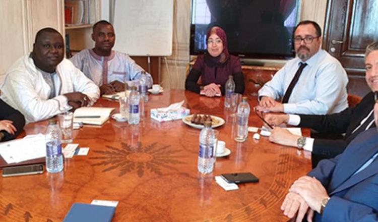 Réunion avec le Directeur Général de la CDC-Niger