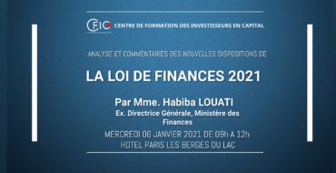 Séminaire Sur La Loi De Finances De 2021