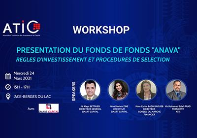 Workshop de présentation du Fonds de Fonds « ANAVA »